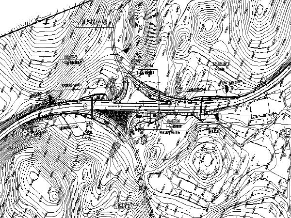 [贵州]互通公路工程两阶段施工图设计(CAD)