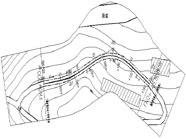 [重庆]9条旧路硬化改造工程施工图设计