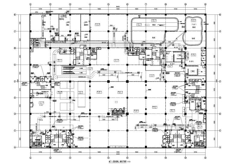 河北省某办公商业综合体暖通施工图
