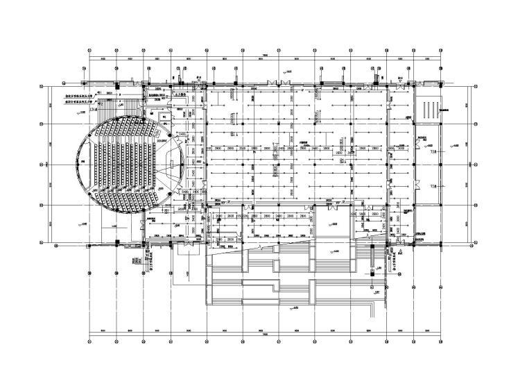 长江大学石油科技中心给排水施工图