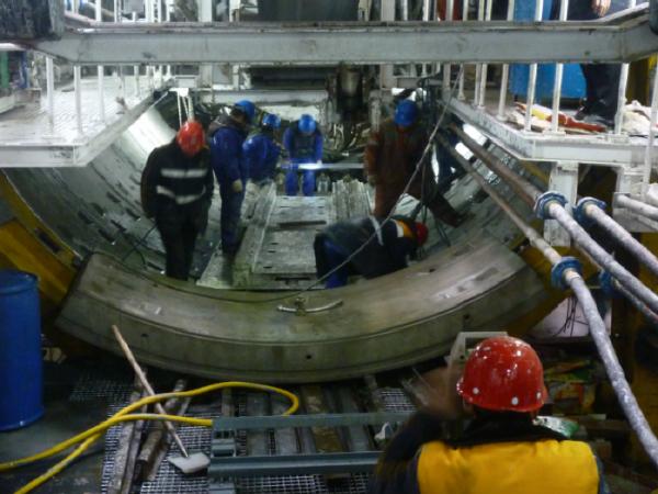 [大连]地铁盾构300m小半径曲线始发施工技术