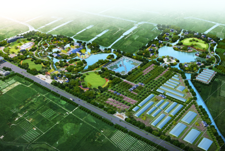 [上海]生态农庄旅游观光休闲园总体规划文本
