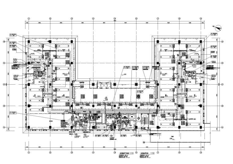 漕河泾科技绿洲三期1号厂房暖通施工图