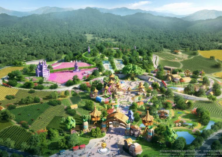 [广东]奥飞Q萌农场主题乐园景观方案文本