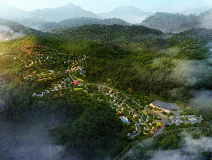 [湖北]宜昌市国际房车露营景观方案设计