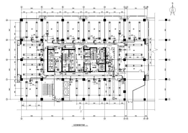 西安高新NEWORLD1#2#塔楼暖通施工图