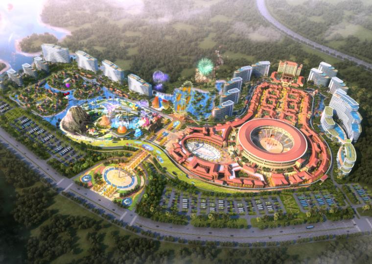 [海南]斗牛文化旅游城主题乐园概念规划设计