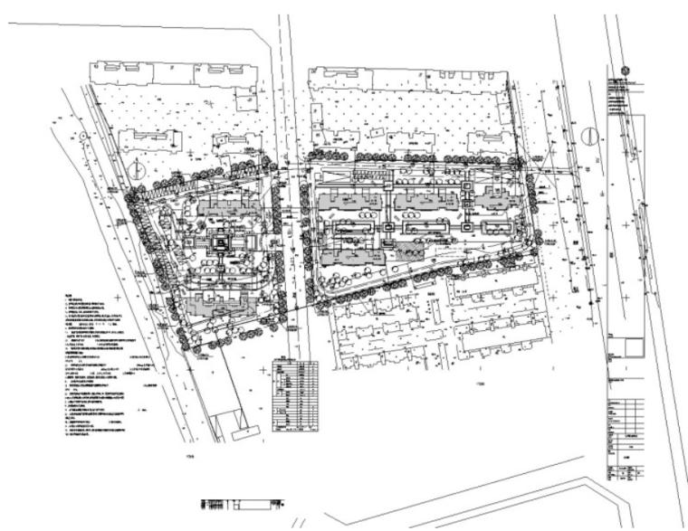 租赁型住宅及徕卡公园标文(含图纸)-1、建筑总图