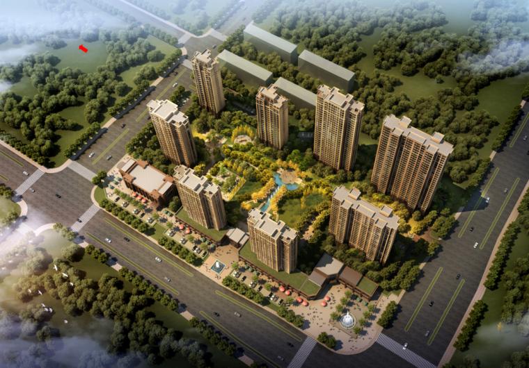[内蒙古]新古典风格世纪城住宅建筑方案
