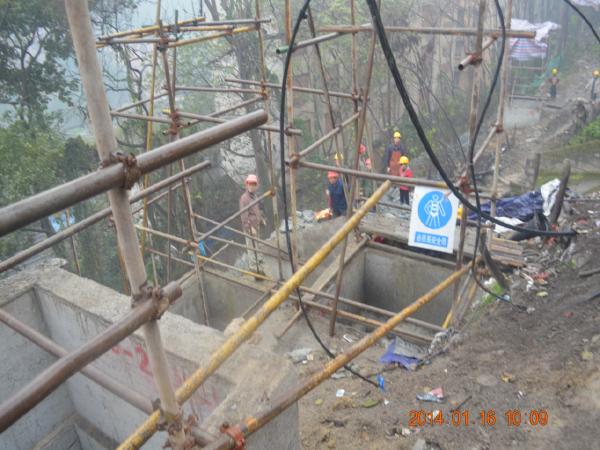 大桥立交工程E线保护性施工方案