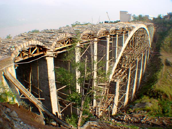 上承式拱桥(支架/吊装/骨架/转体/悬臂)施工
