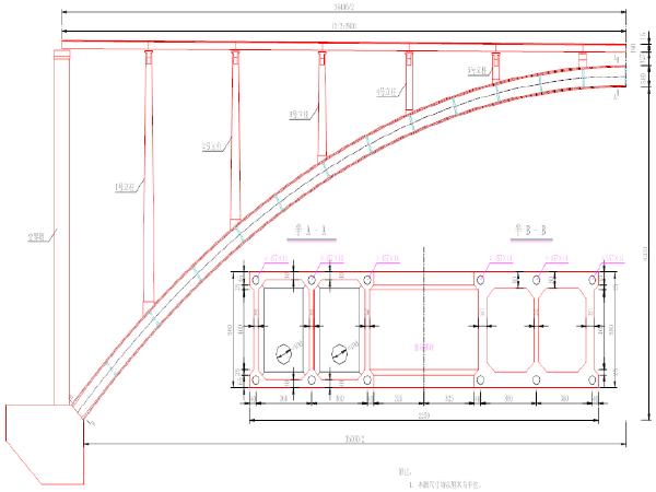 钢管混凝土劲性骨架拱桥外包混凝土施工方案
