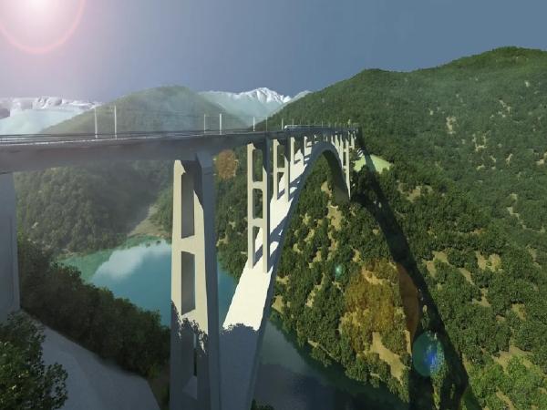 [QC]铁路大跨劲性骨架钢筋混凝土拱桥设计