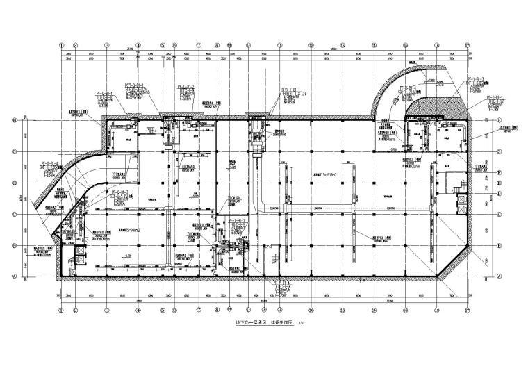 重庆某邮政气象局办公楼暖通施工图