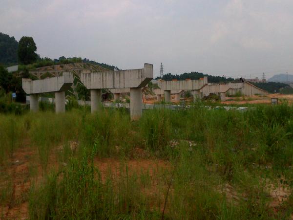 [深圳]道路跨线桥预制箱梁吊装施工方案