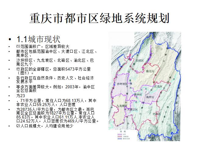 重庆绿地系统规划PPT