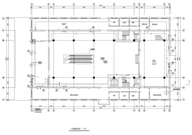 某二层3000平办公楼暖通设计