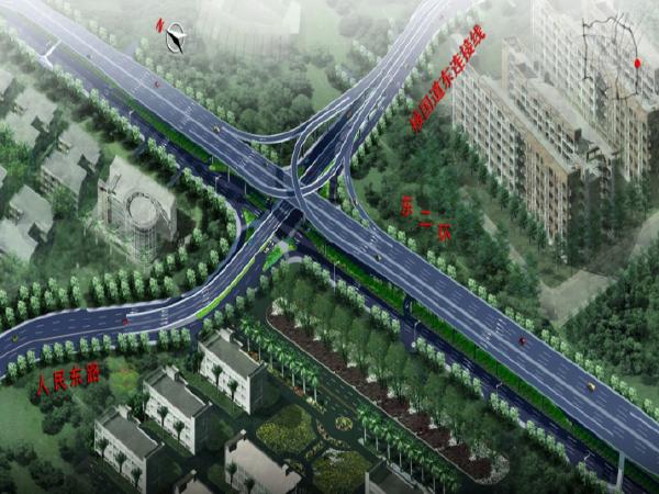 快速路改扩建立交桥匝道钢箱梁吊装施工方案