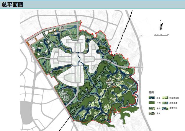 [四川]成都城市农业景观带规划设计-土人