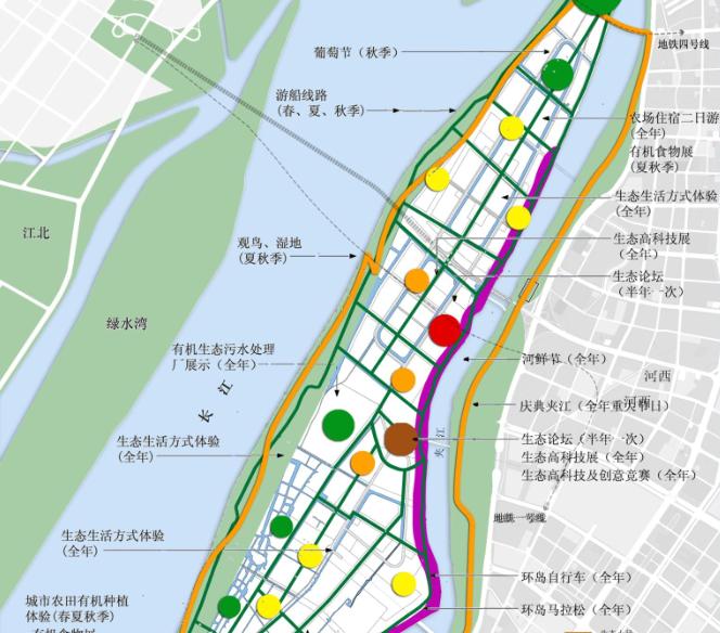 [江苏]南京滨江生态科技岛概念规划方案