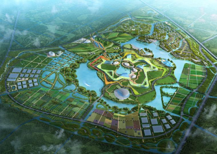 [江苏]盐城市生态农业示范园区规划设计方案
