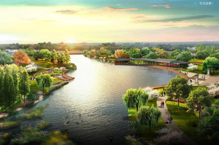 [湖南]滨水生态旅游小镇示范区总体规划方案