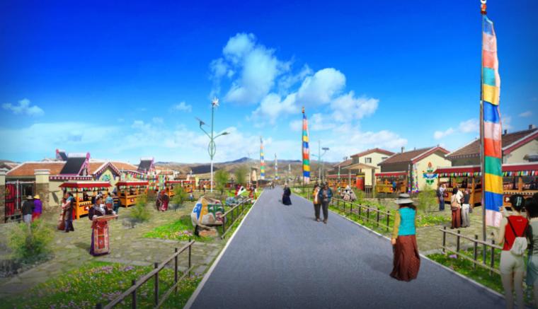 [四川]藏族哈拉玛村落改造旅游扶贫规划方案