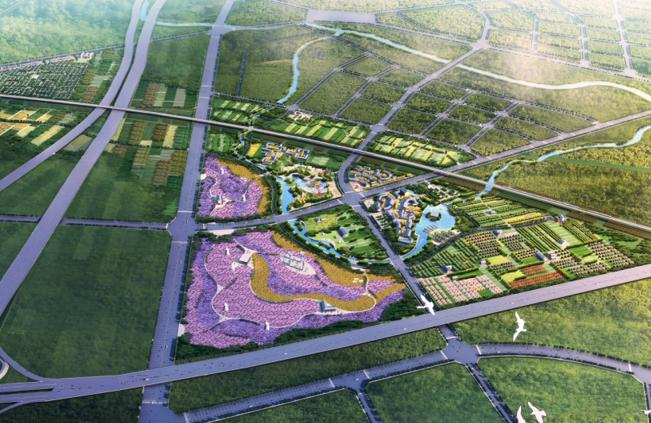 [河南]郑州市美丽乡村规划文本+CAD总平面图