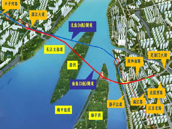 [南京]道路过江通道总体施工组织设计汇报