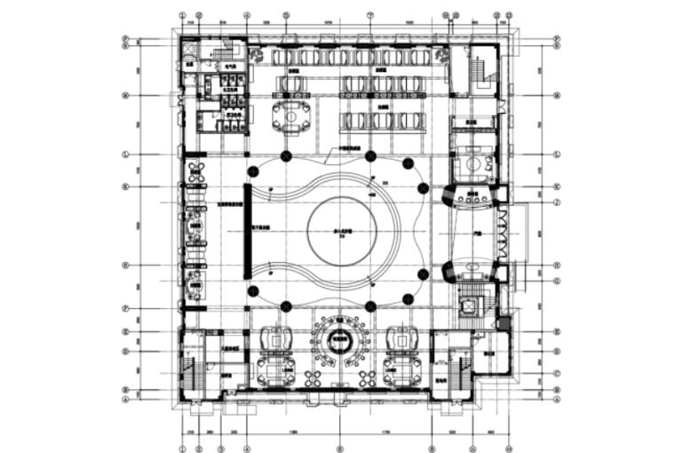 [天津]-融创全运村项目售楼处全套施工图