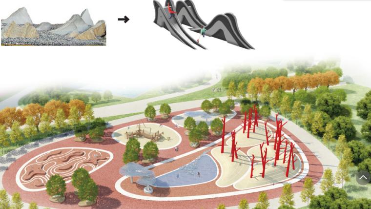 [安徽]现代曲线滨水公园方案设计文本_10