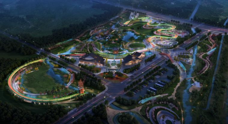 [安徽]现代曲线滨水公园方案设计文本_3