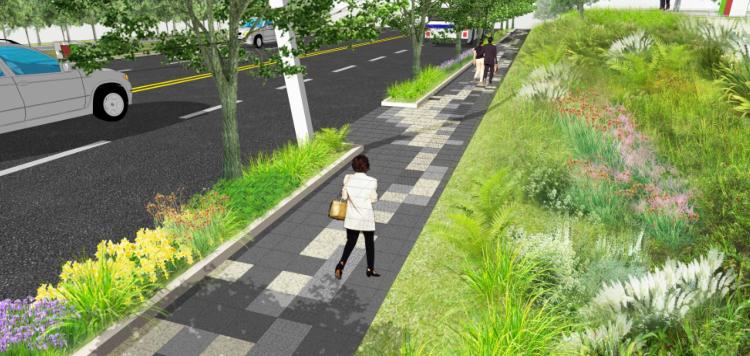 [江苏]南京生态科技岛市政景观设计方案文本