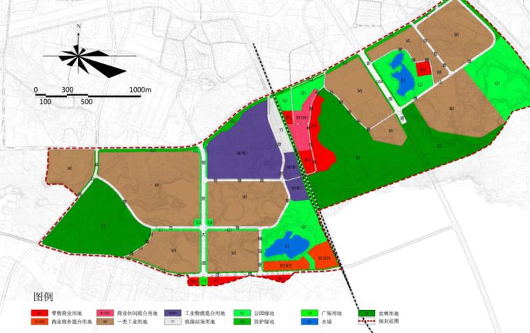 [湖南]绿色智能制造产业园城市规划设计方案_8