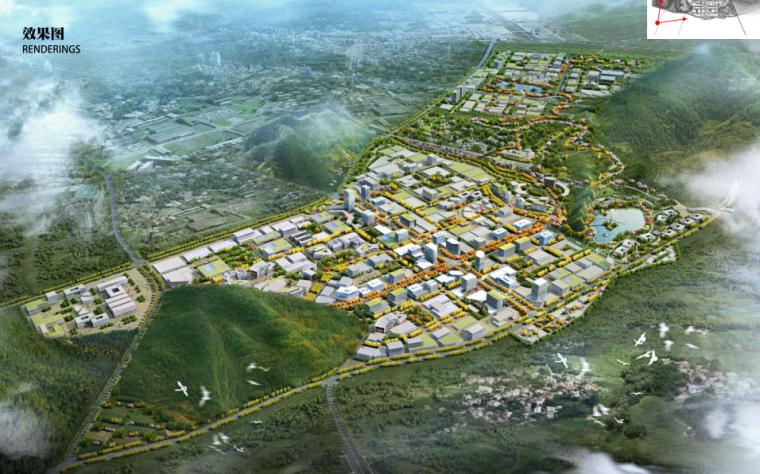 [湖南]綠色智能制造產業園城市規劃設計方案