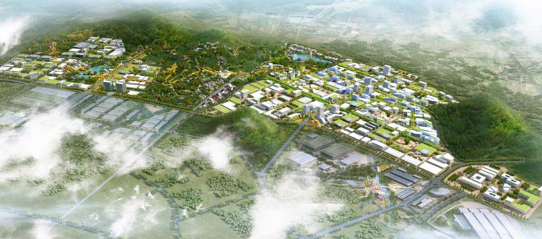 [湖南]绿色智能制造产业园城市规划设计方案_2