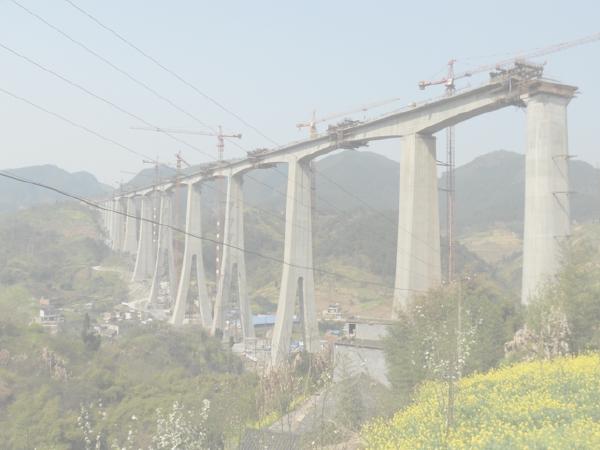 [QC]铁路双线特大桥主桥墩身外观质量控制