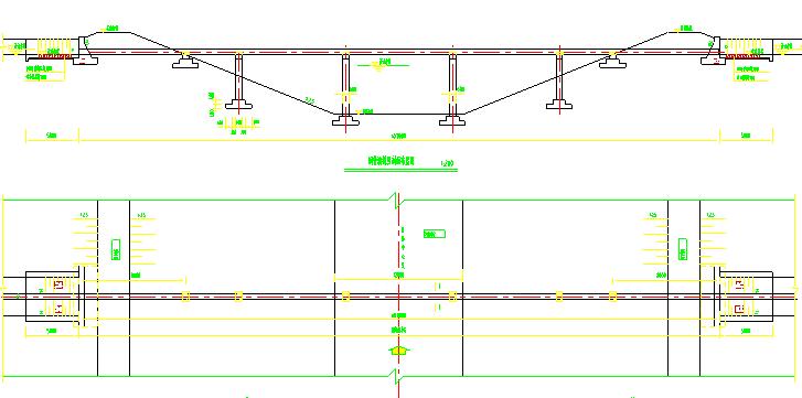 钢管式渡槽典型设计图