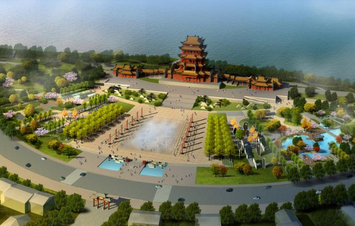 [湖南]湘潭文化广场市政公园景观方案文本
