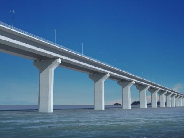 跨海大桥桥梁工程钢-混组合梁施工工艺