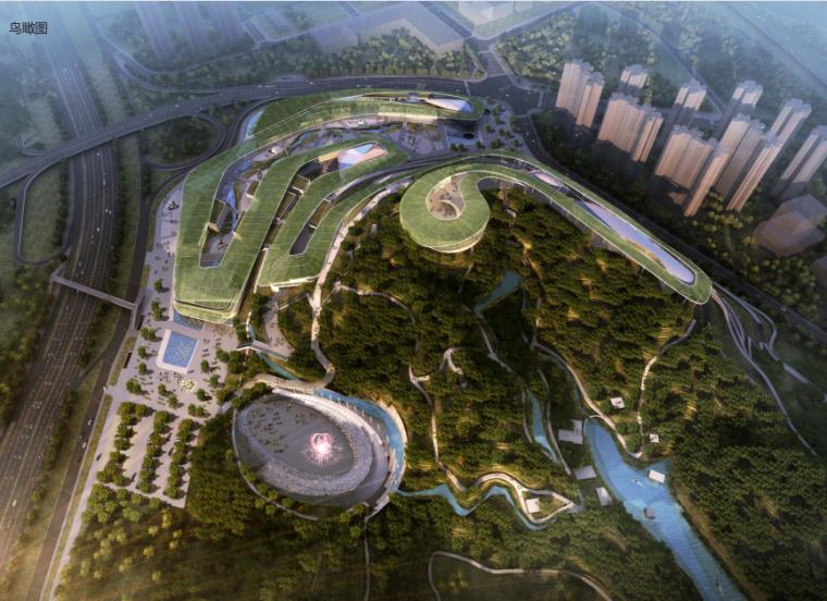 [深圳]生态自然绿色曲线博物公园方案文本