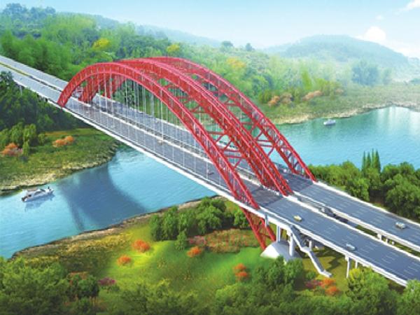 大跨径钢管混凝土拱桥施工新技术研究与应用