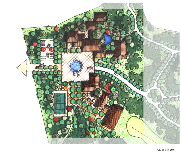 某生态小区规划设计资料下载-合肥市农业生态园设计方案