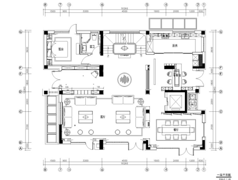 [北京]亿城燕西华府42#合院别墅施工图