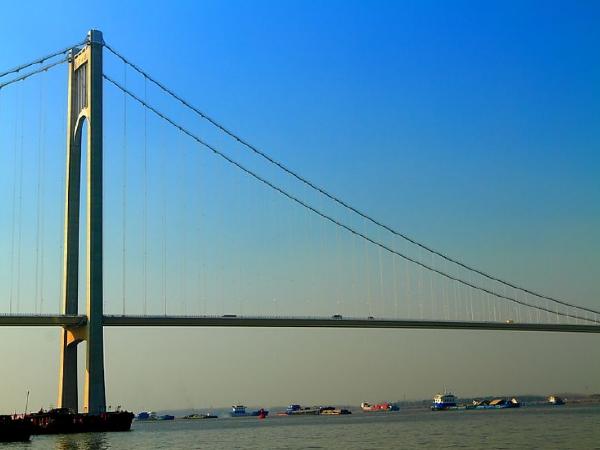 [南京]长江大桥南边跨钢箱梁安装施工方案