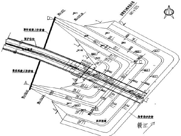[南昌]隧道大型围堰施工测量方案