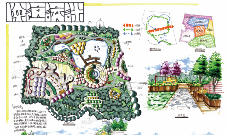 天津大学风景园林考研-优秀快题图215张