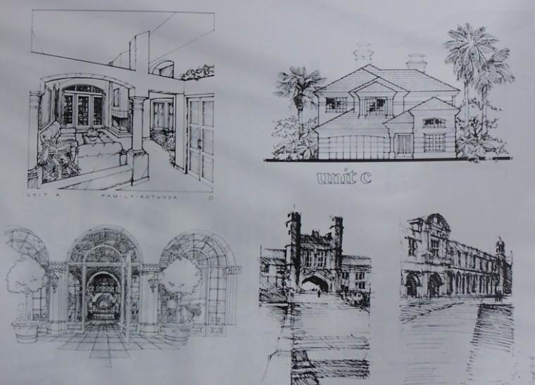 建筑绘画与设计进阶教程,共100页