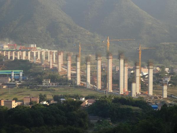 跨线桥梁高墩群施工安全管理总结