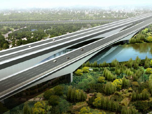[郑州]快速通道桥梁承台专项施工方案